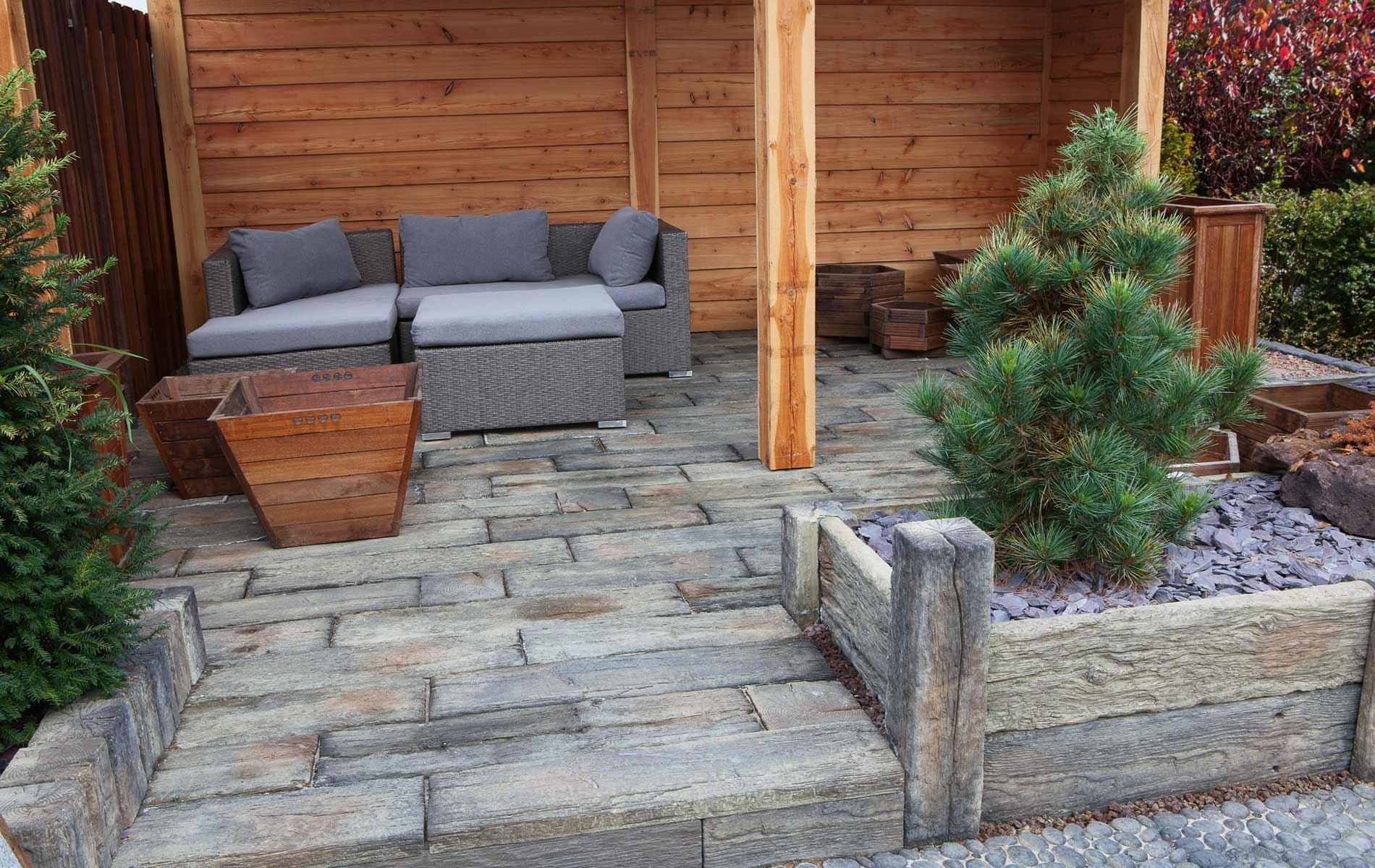 Terras van Timberstone planken