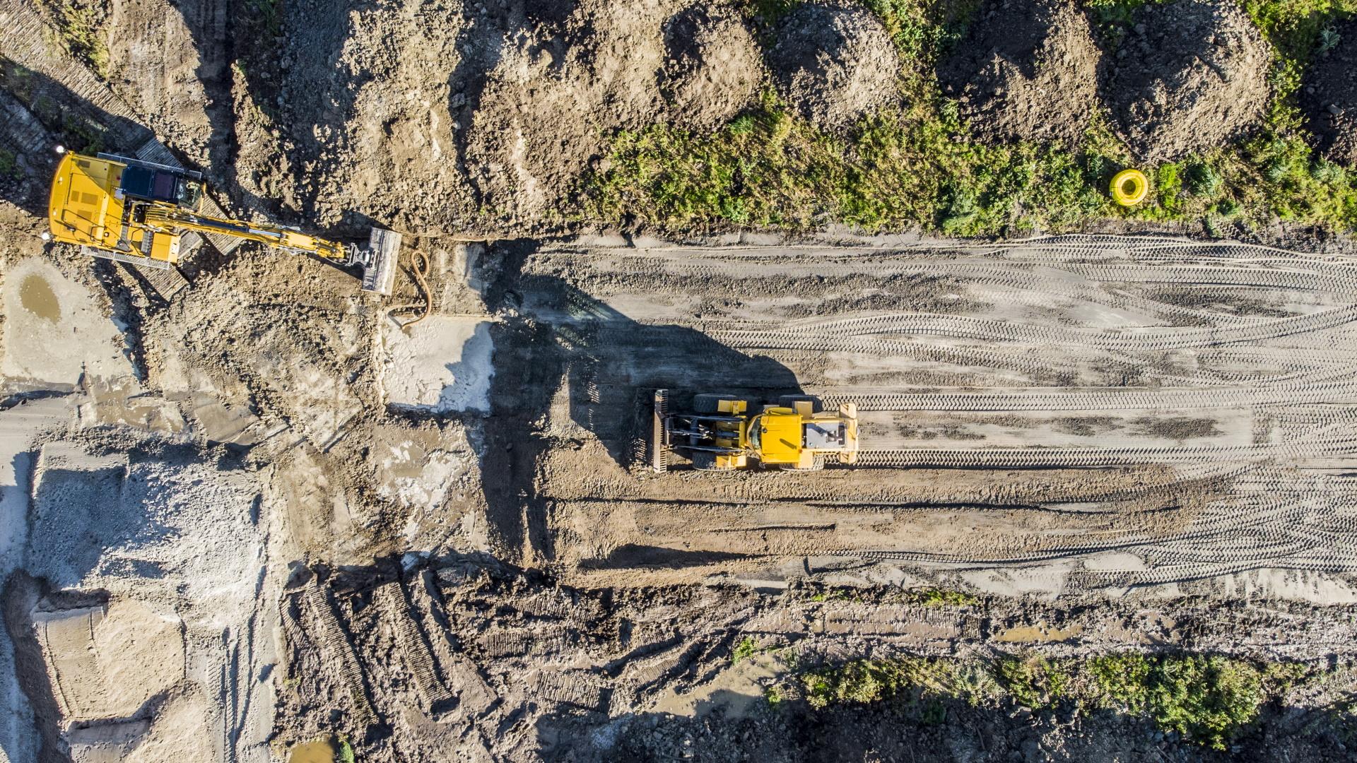 Spaansen Grondstoffen en Logistiek - leverantie zand nieuwbouwwijk De Keyser