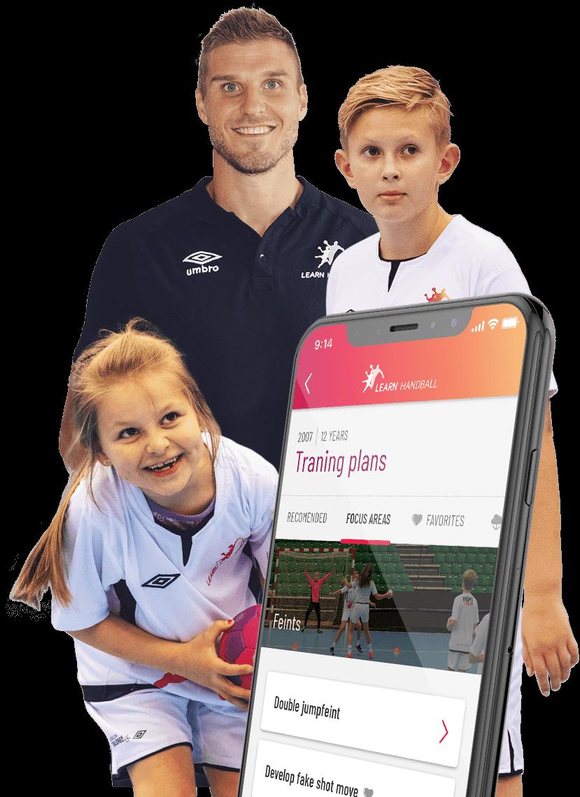 Bjarte Myrhol og Learn Handball