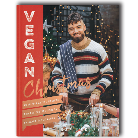 A Vegan Christmas Receipt Book by Gaz Ga