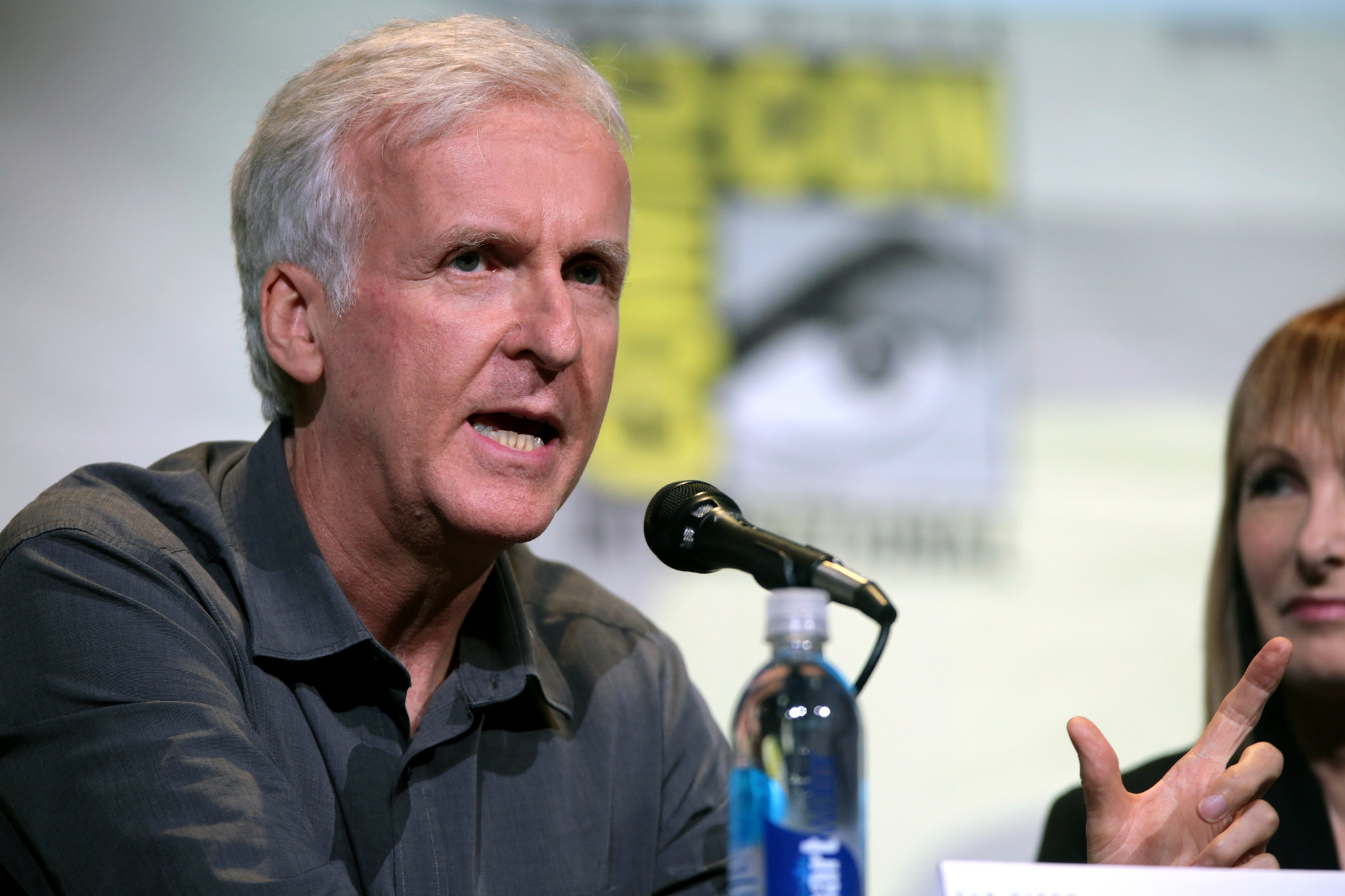 Vegan film director James Cameron
