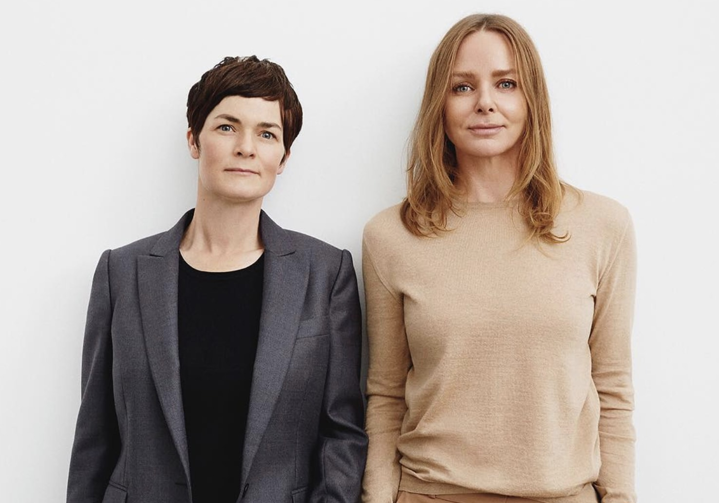 Stella McCartney with Dame Ellen MacArthur