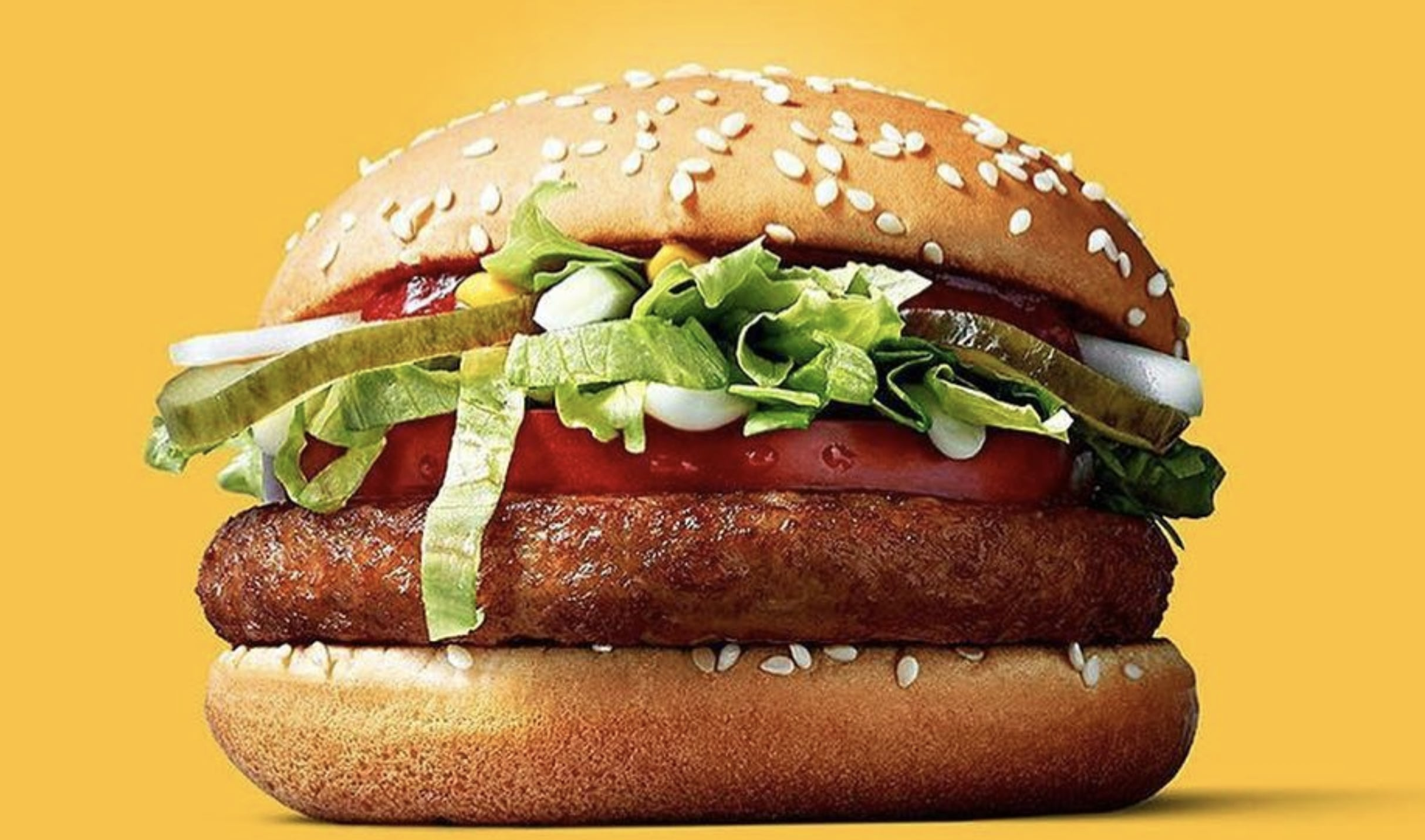 McDonald's McVegan burger