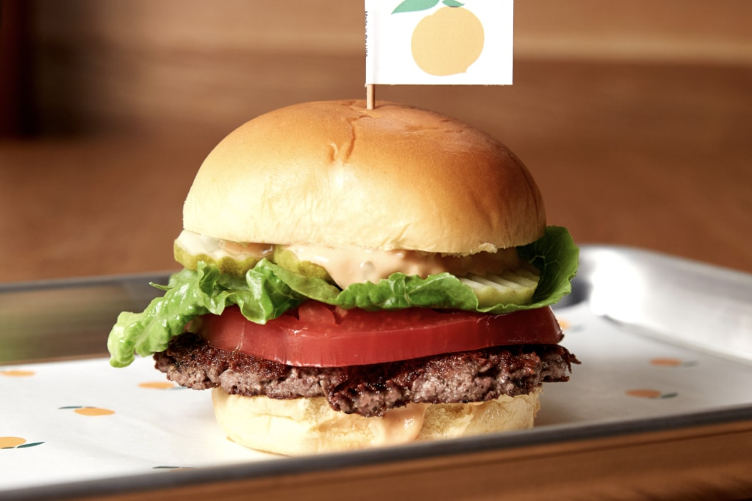 The plant-based Impossible Burger