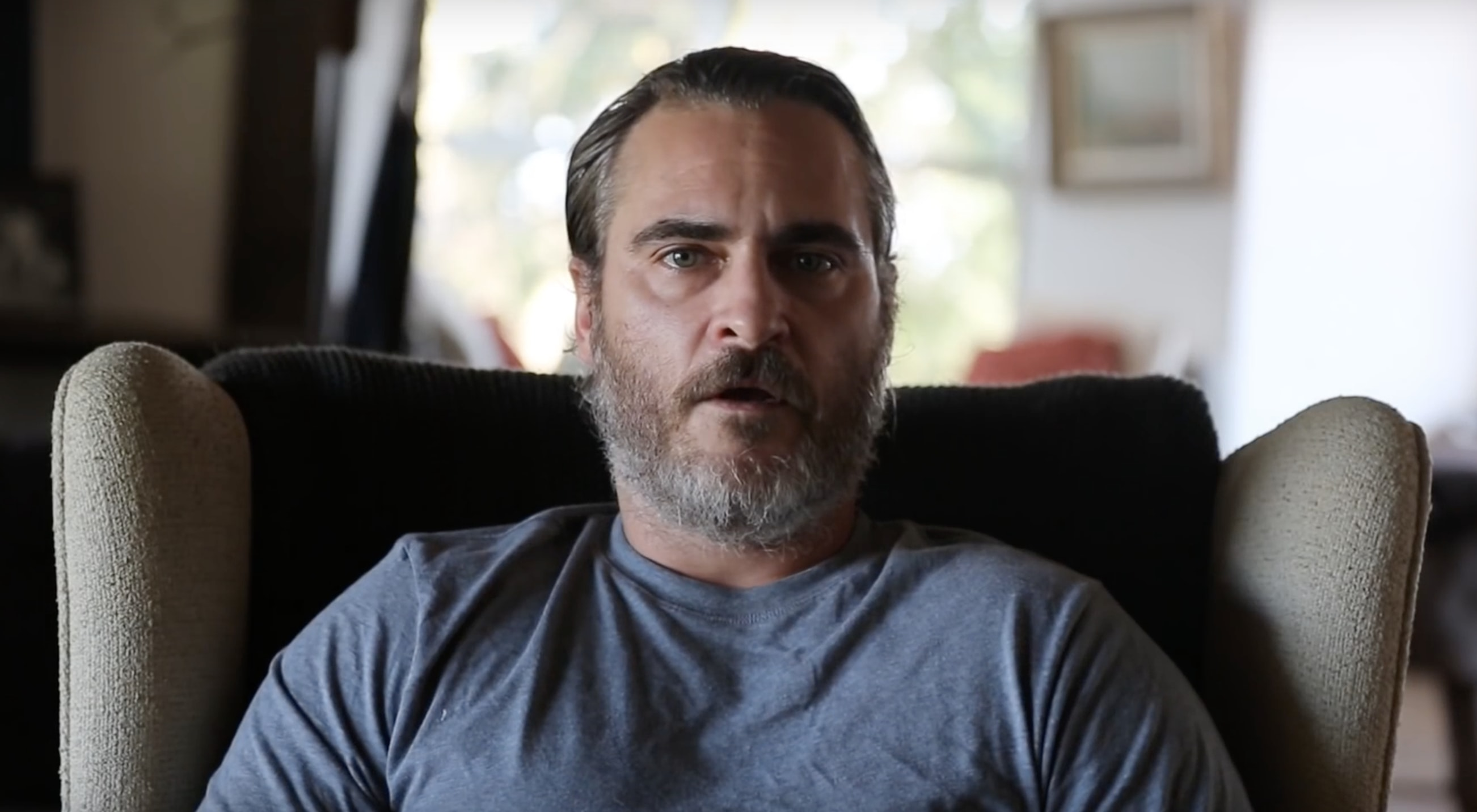 Vegan Joaquin Phoenix To Lead Funeral Procession For Dead Farm Animals
