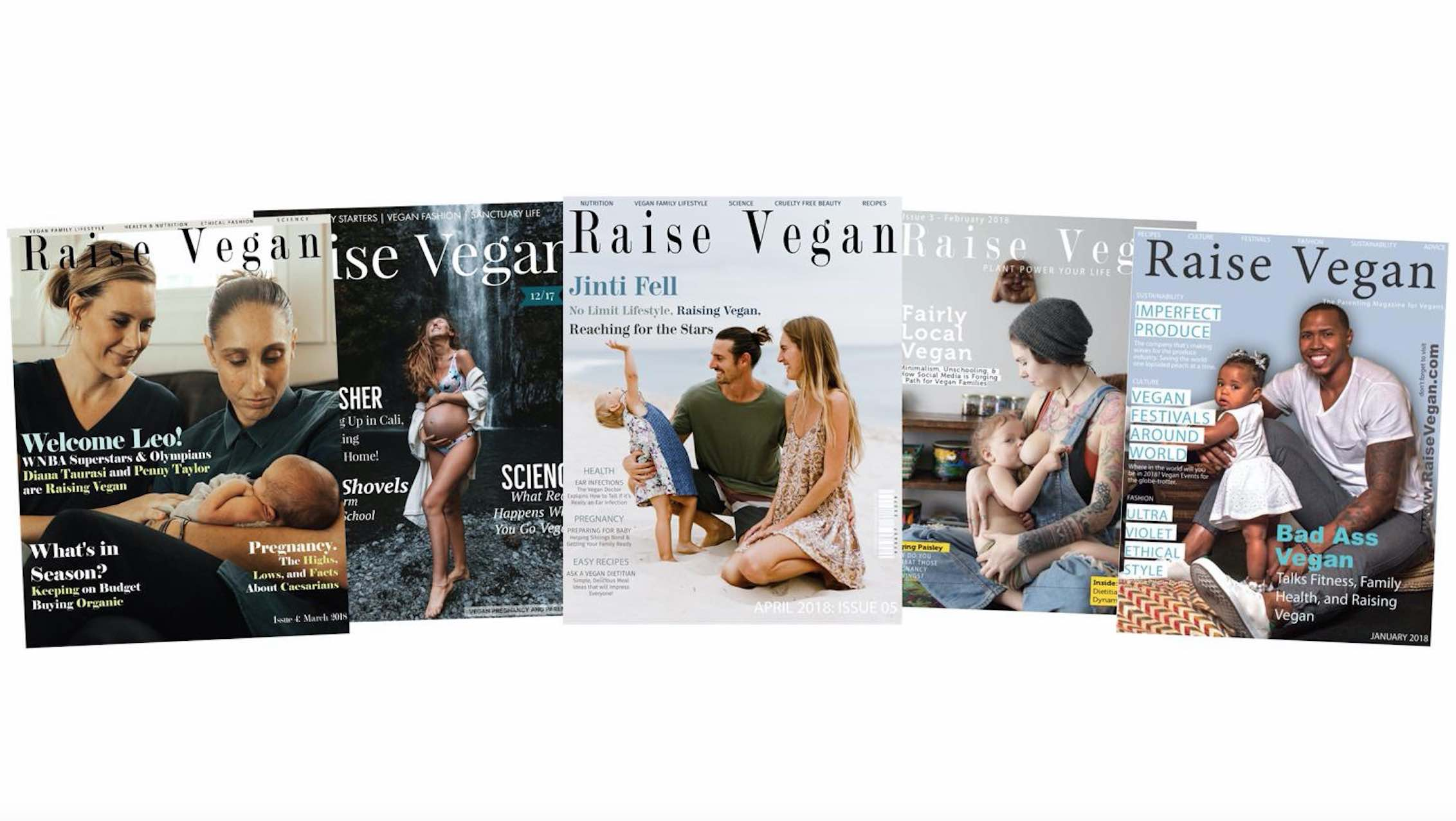 Raise Vegan Upcoming Issues