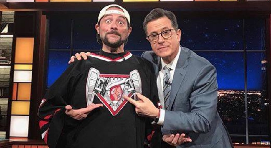 Kevin Smith and Stephen Cobert
