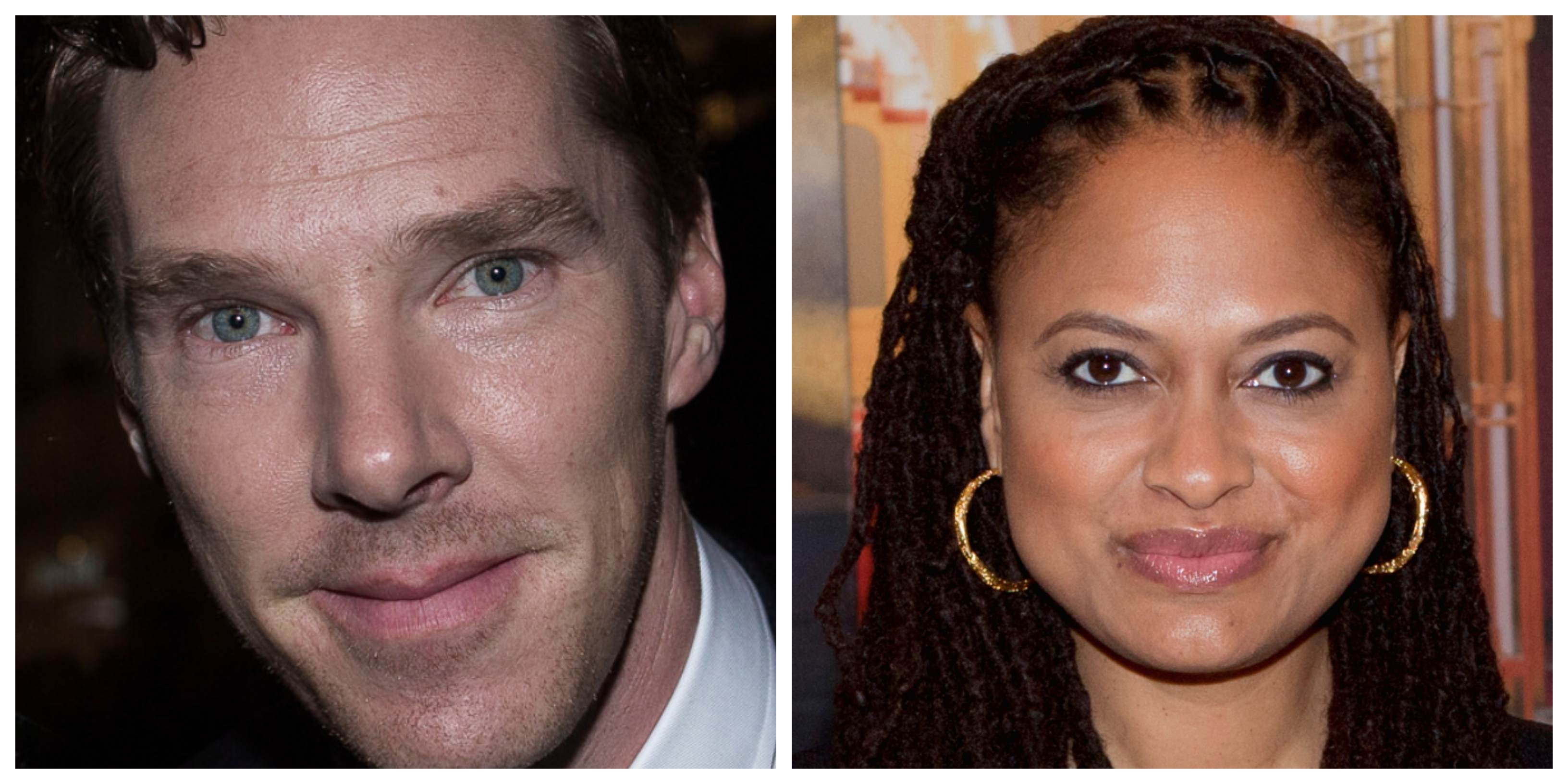 Vegan celebrities Benedict Cumberbatch and Ava DuVernay