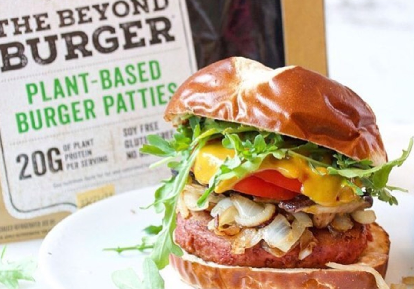 The Beyond Burger from Beyond Meat