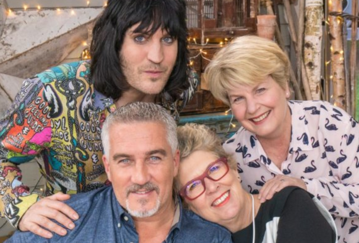 GBBO Show hosts Paul Hollywood, Sandi Toksvig, Noel Fielding and Prue Leith (Photo: Channel 4)