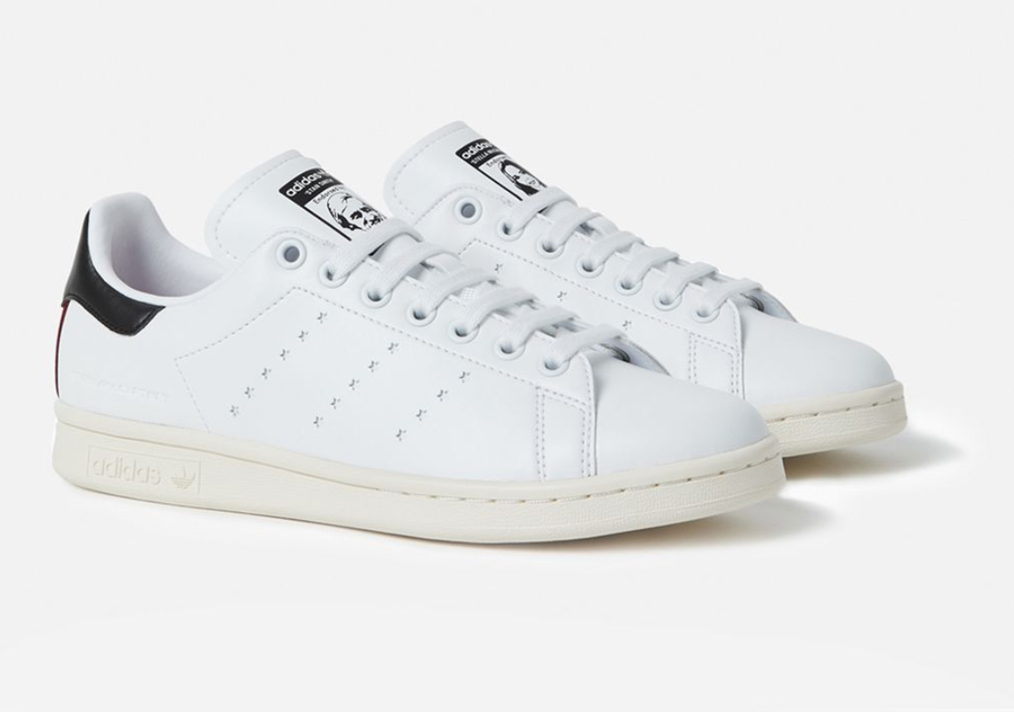 timeless design 30e08 c7d1a Vegan leather Stan Smith shoes from Adidas and Stella McCartney