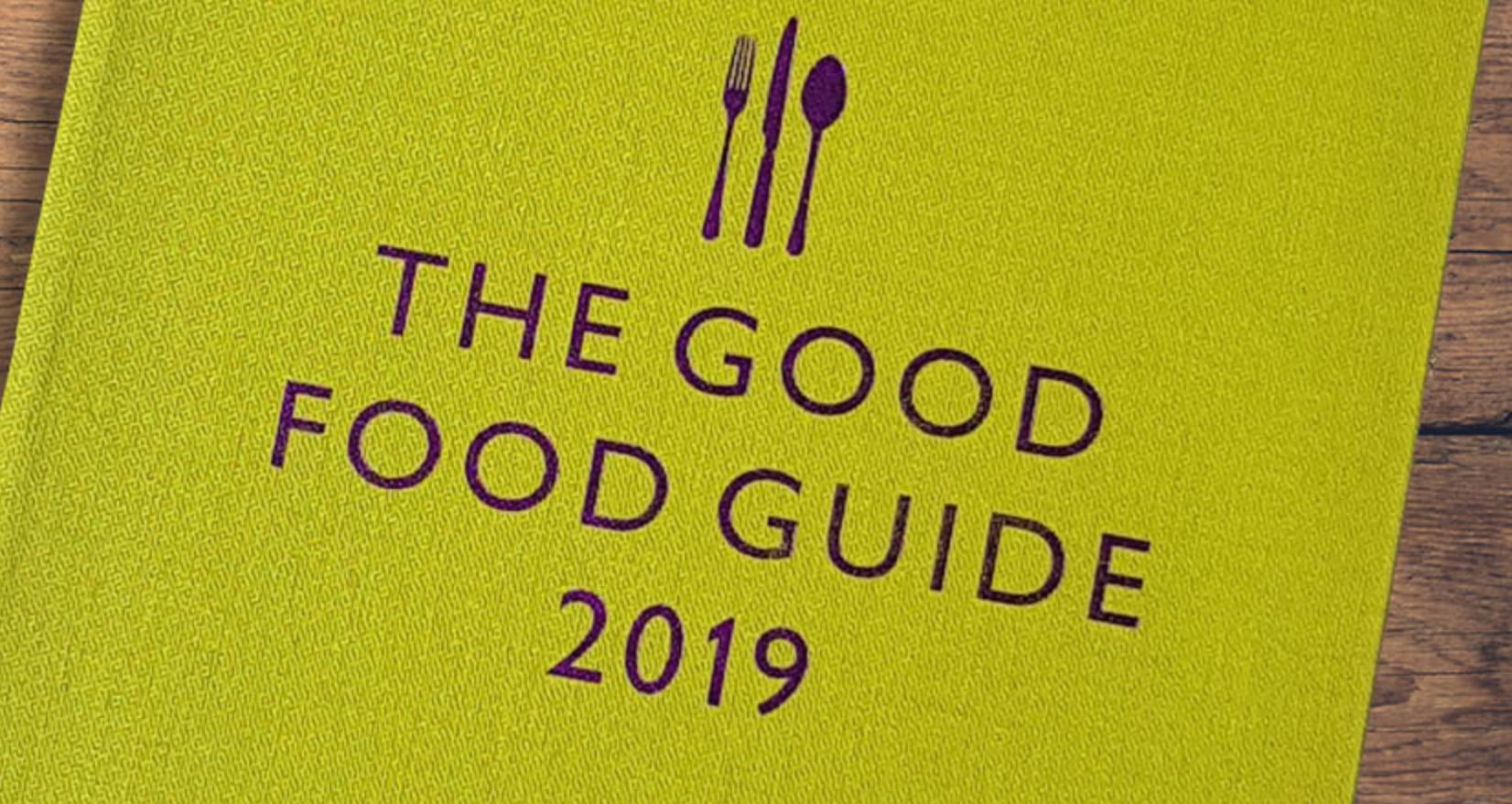 Good Food Guide 2019 cover