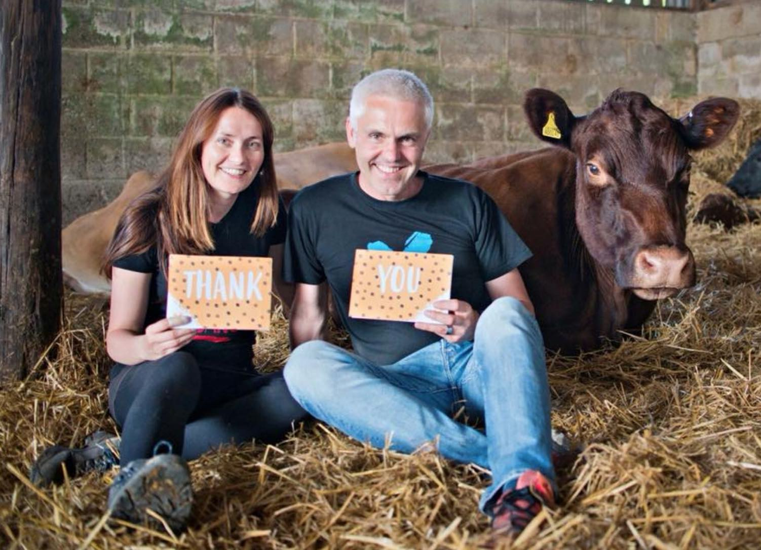 Veganuary Founders Matthew Glover and Jane Land