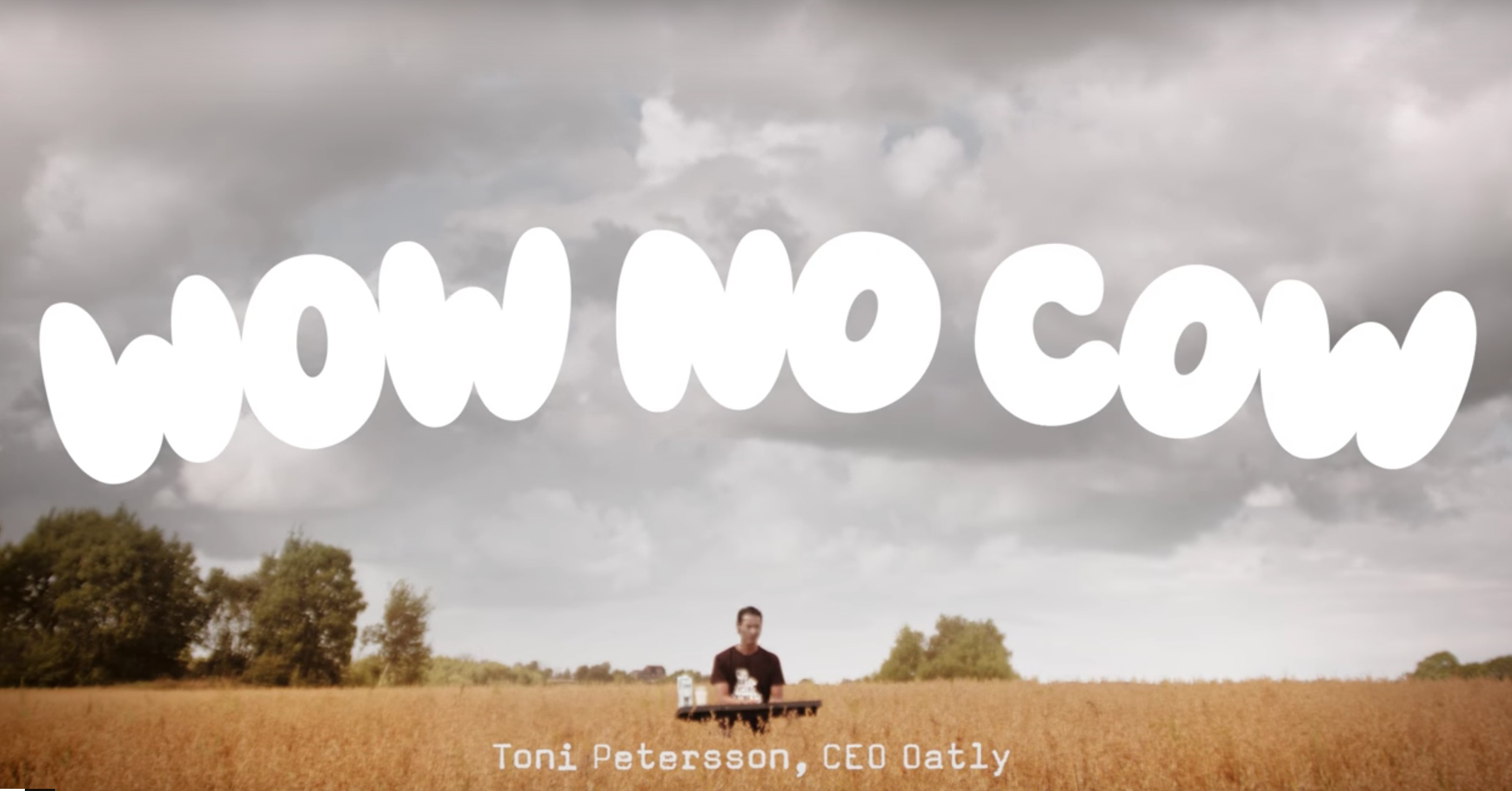 Vegan Oatly television advert
