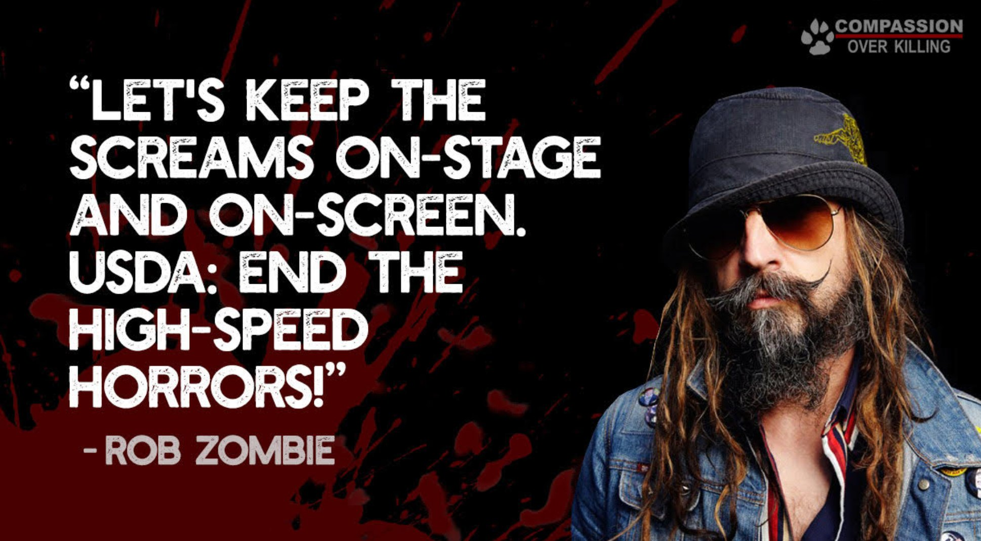 Rob Zombie HIgh Speed Slaughter advert