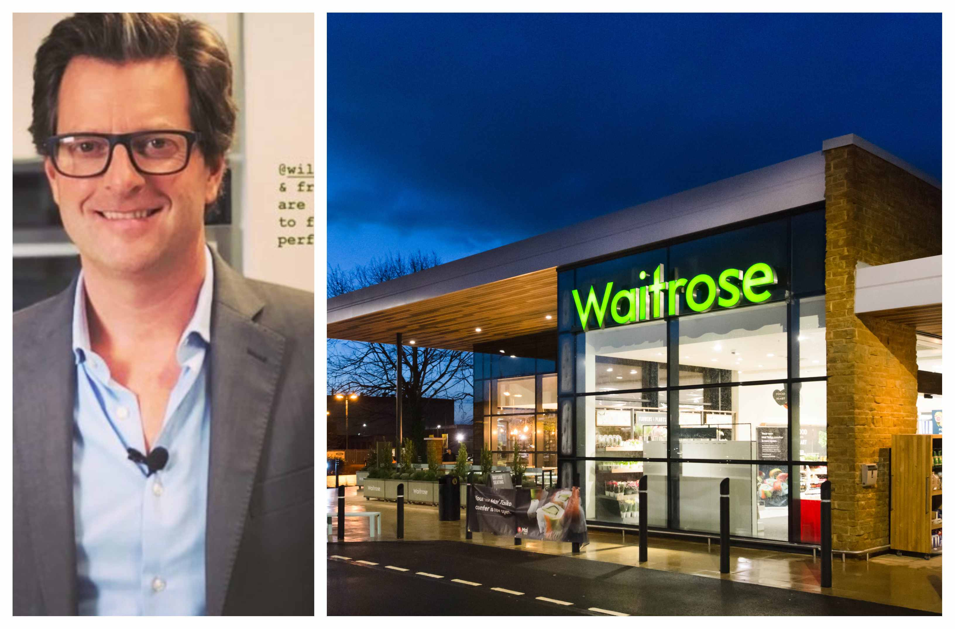 William Sitwell and Waitrose
