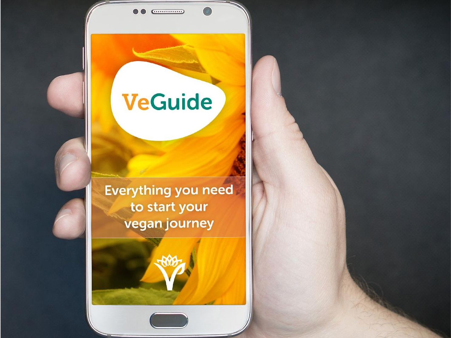 Free vegan app VeGuide from The Vegan Society