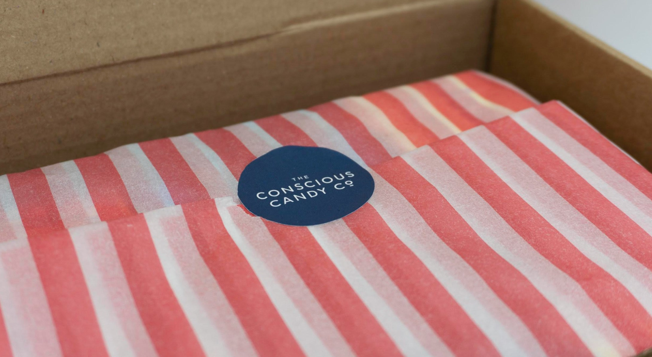 Packaging from The Conscious Candy Company