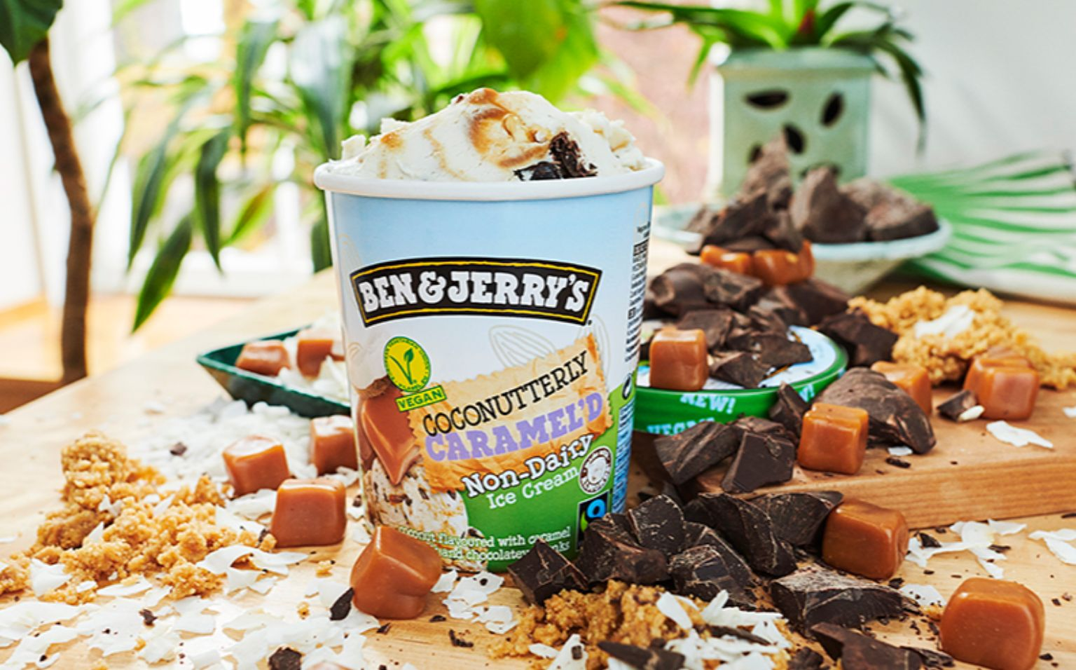Ben & Jerry's Coconutterly Caramel'd