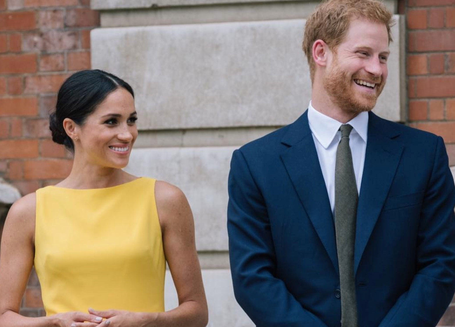 Meghan Markle with her husband Prince Harry