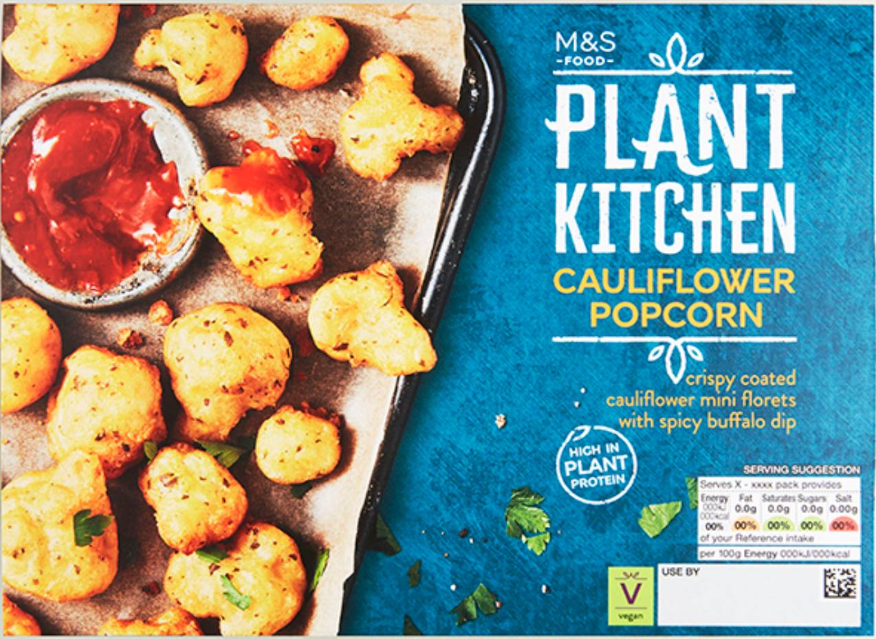 Marks & Spencer new vegan range