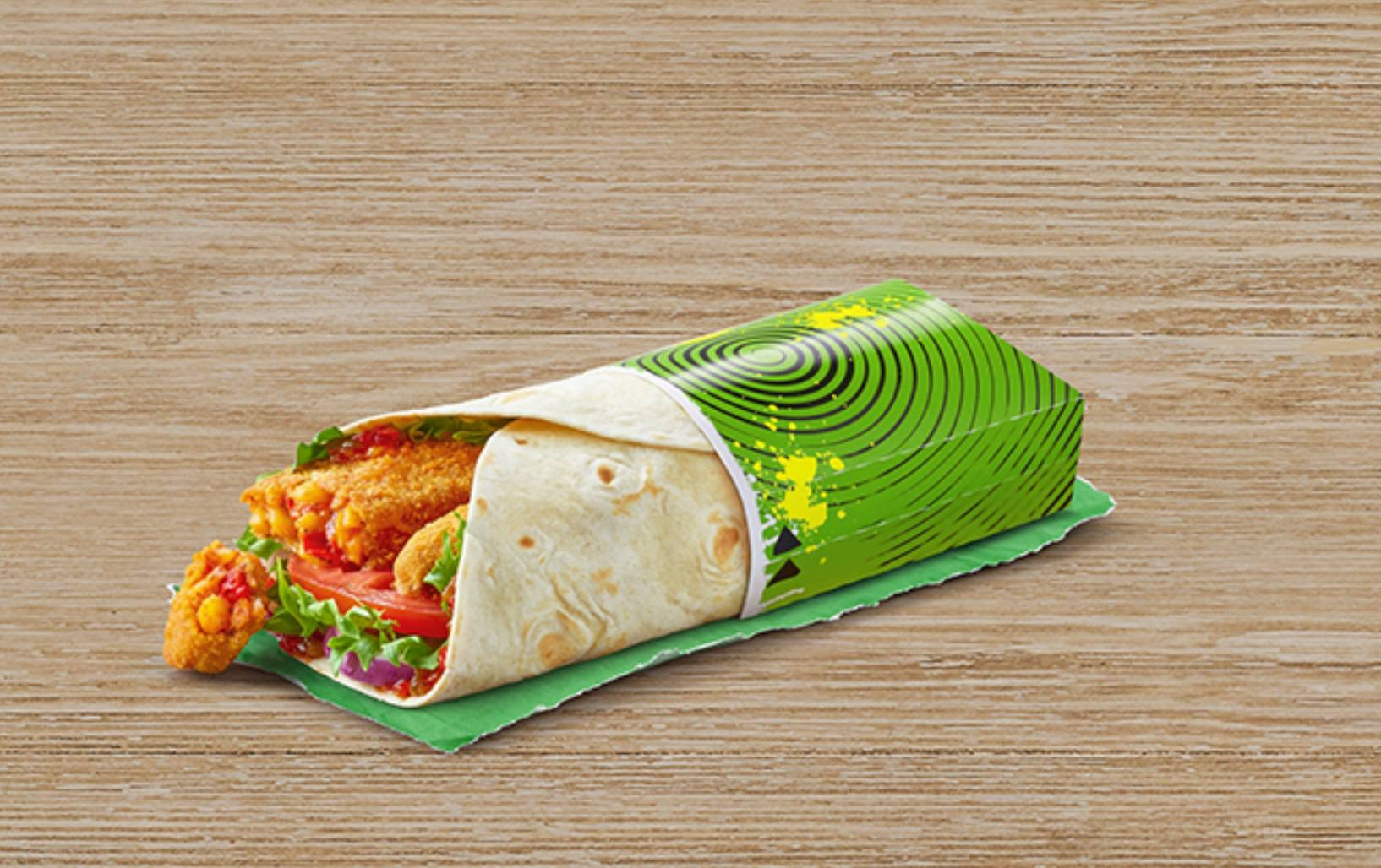 McSpicy Vegetable Wrap