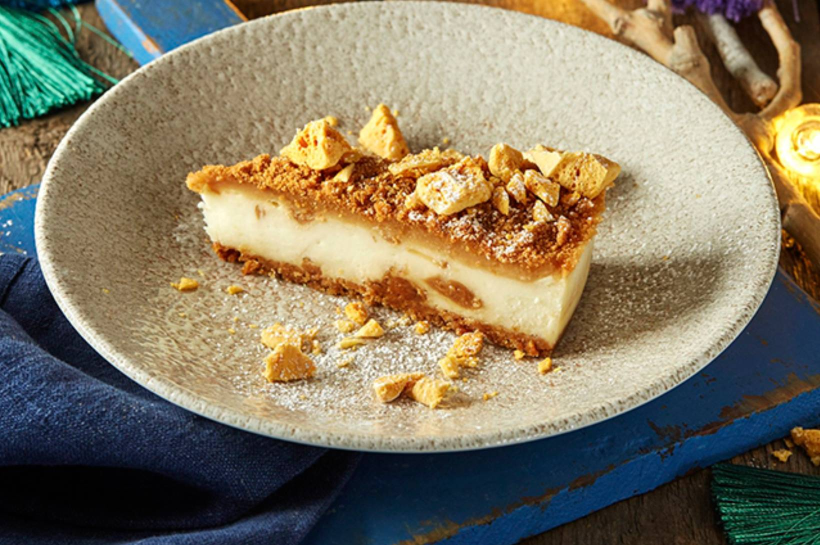 Zizzi vegan cheesecake