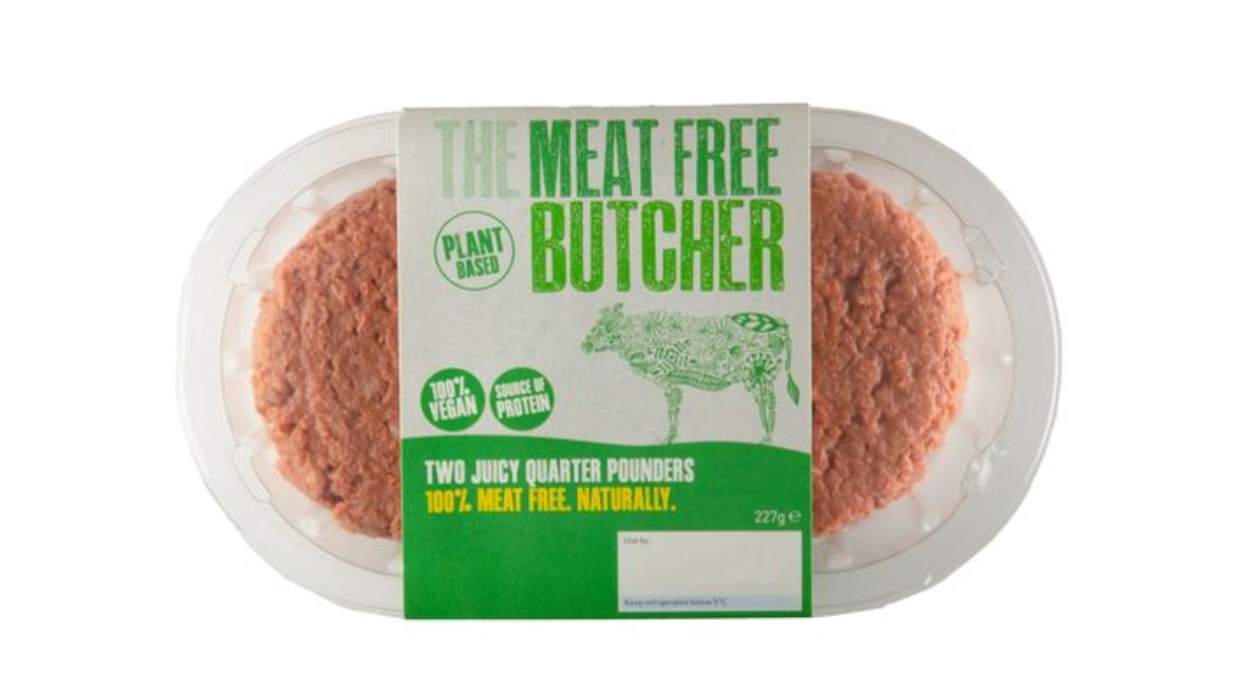 Aldi bleeding vegan burger