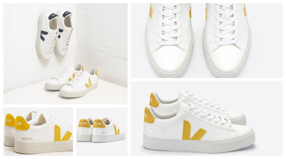 Vegan trainers from Veja