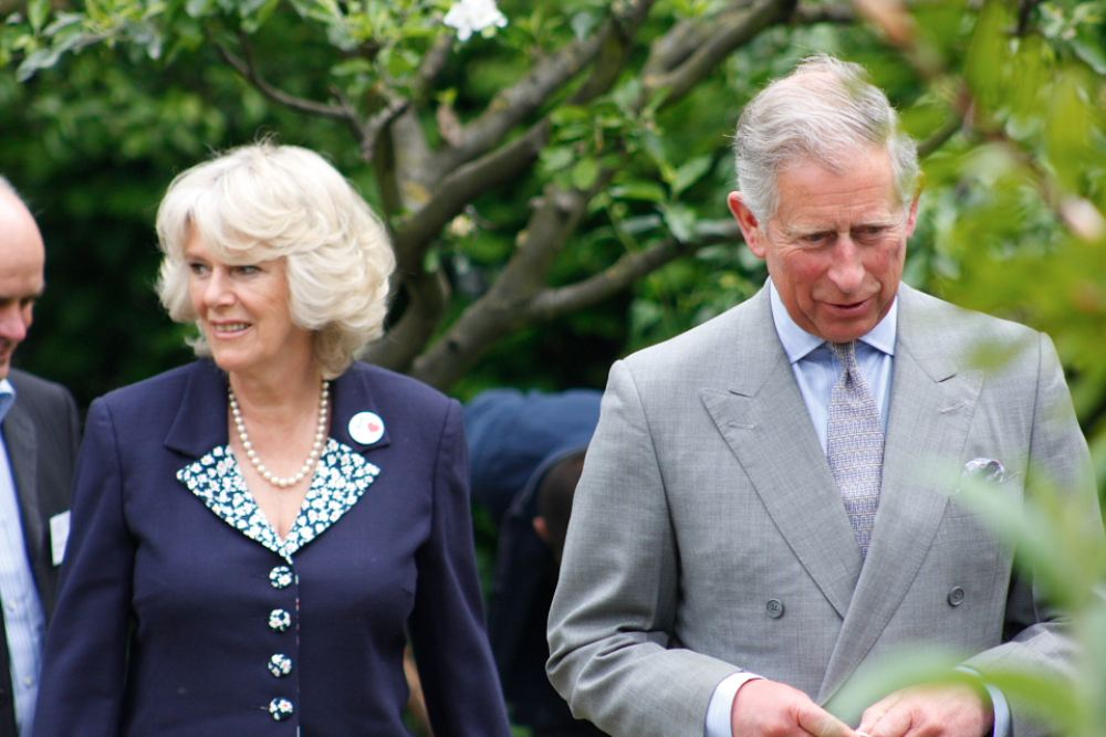 Camilla with her husband Prince Charles