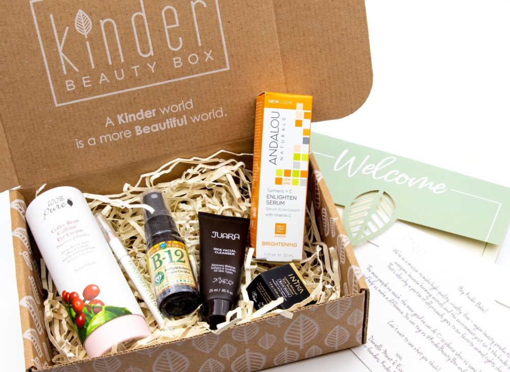 Vegan Kinder Beauty Box