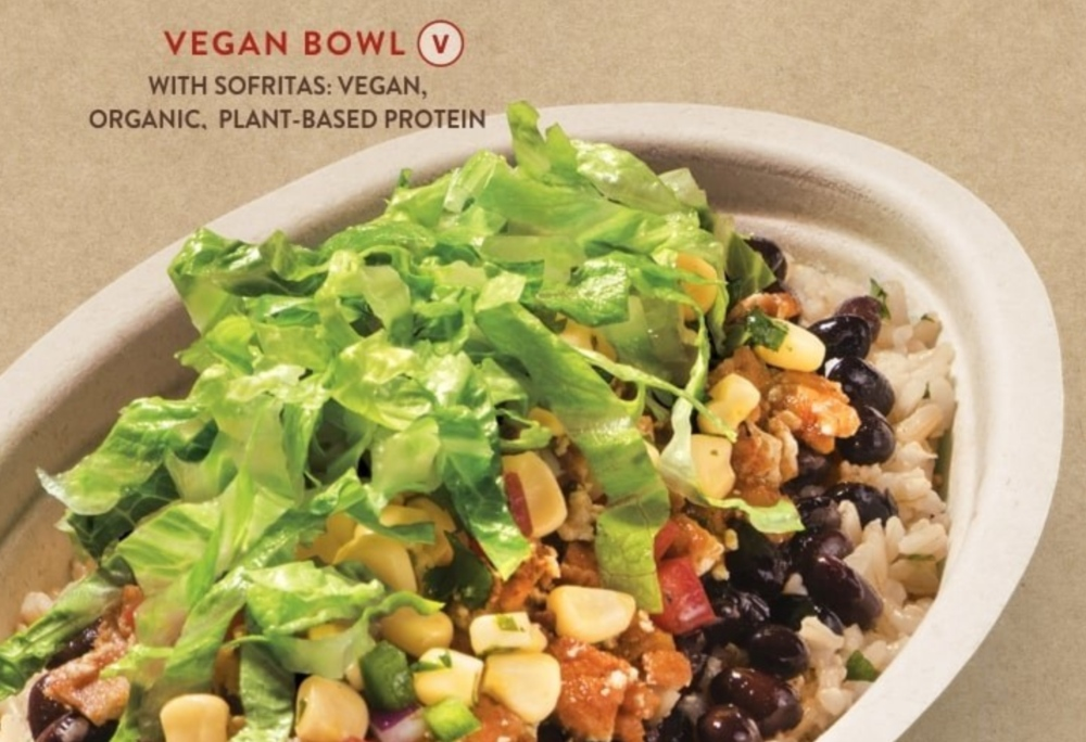 Chipotle vegan bowl