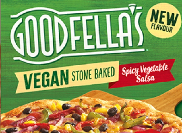 Goodfellas vegan pizza