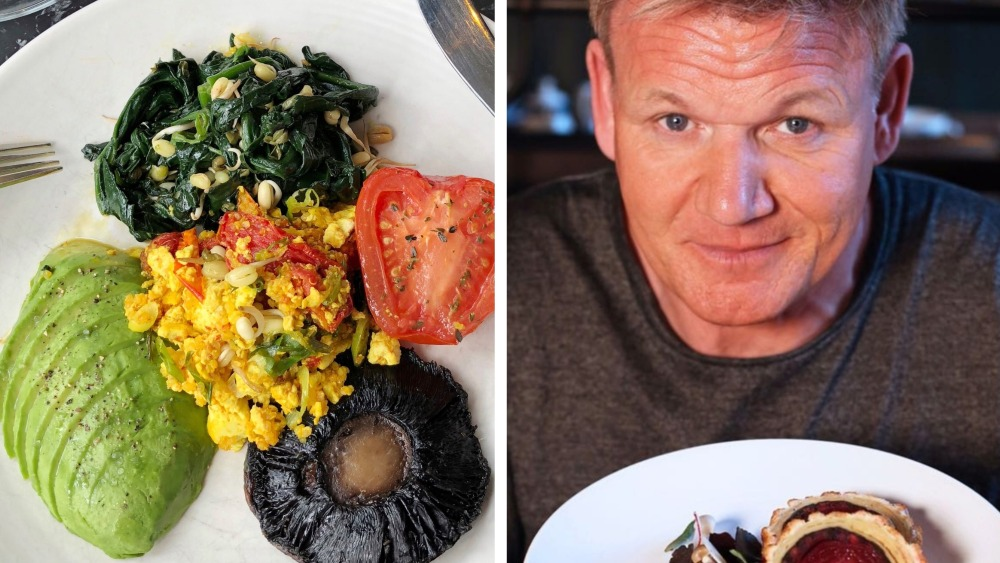Gordon Ramsay vegan breakfast