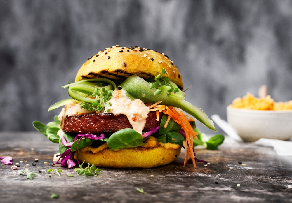 Nestle vegan burger