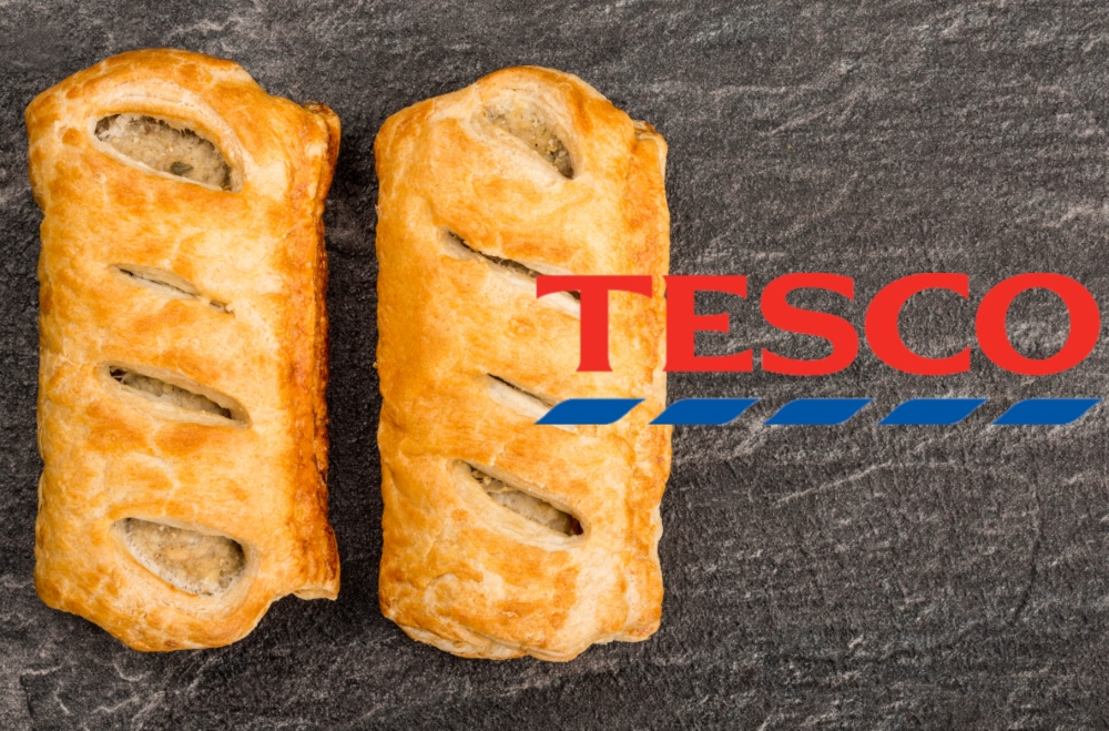 Tesco vegan sausage roll