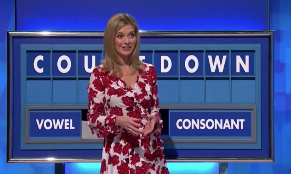 Vegan Countdown star Rachel Riley