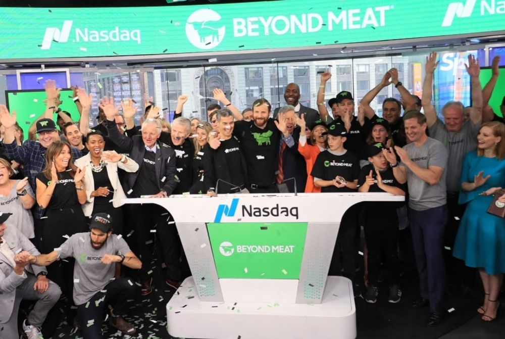 Beyond Meat goes public
