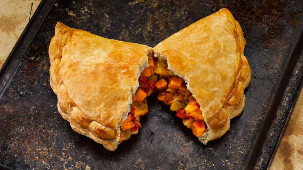 Ginsters vegan pasty