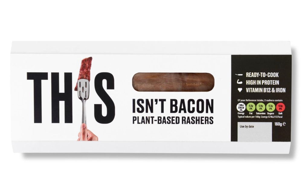 Vegan bacon from THIS