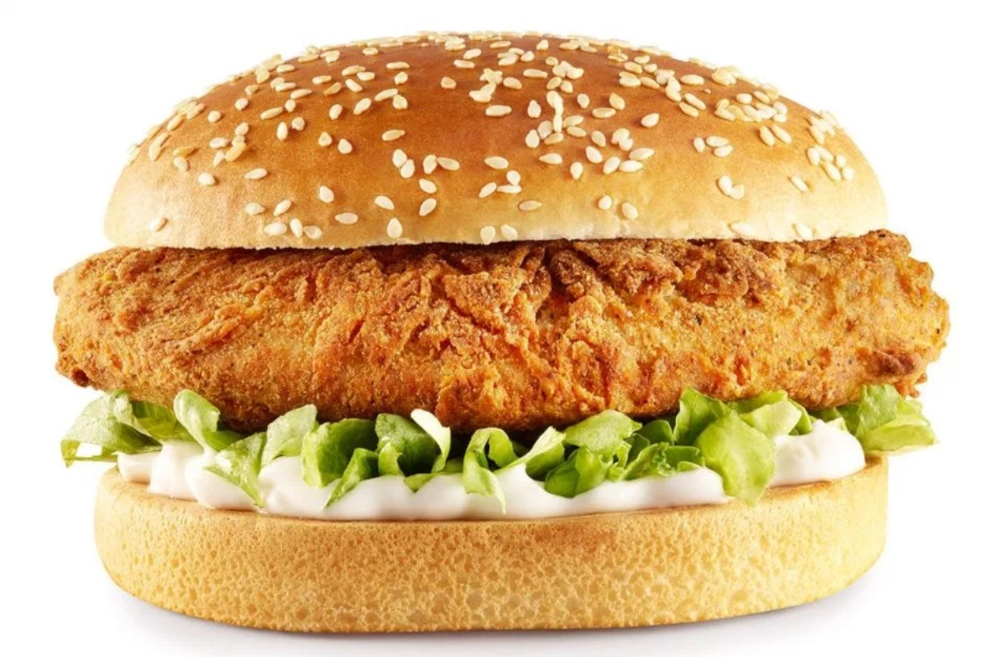KFC vegan burger The Imposter