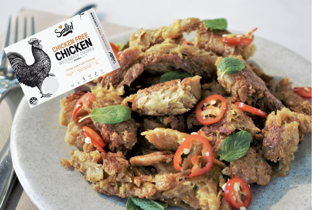 Vegan chicken from Sunfed