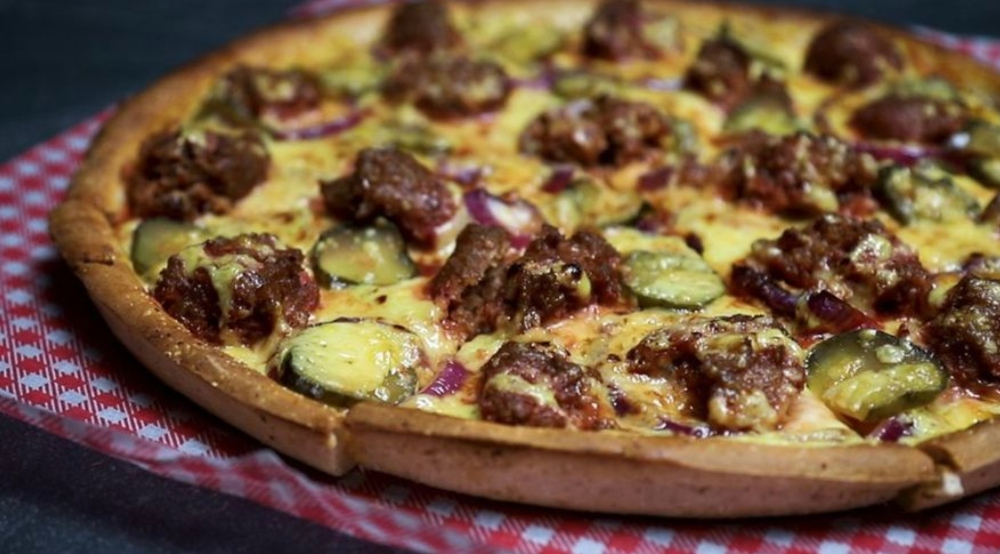 Hell Pizza Burger Pizza