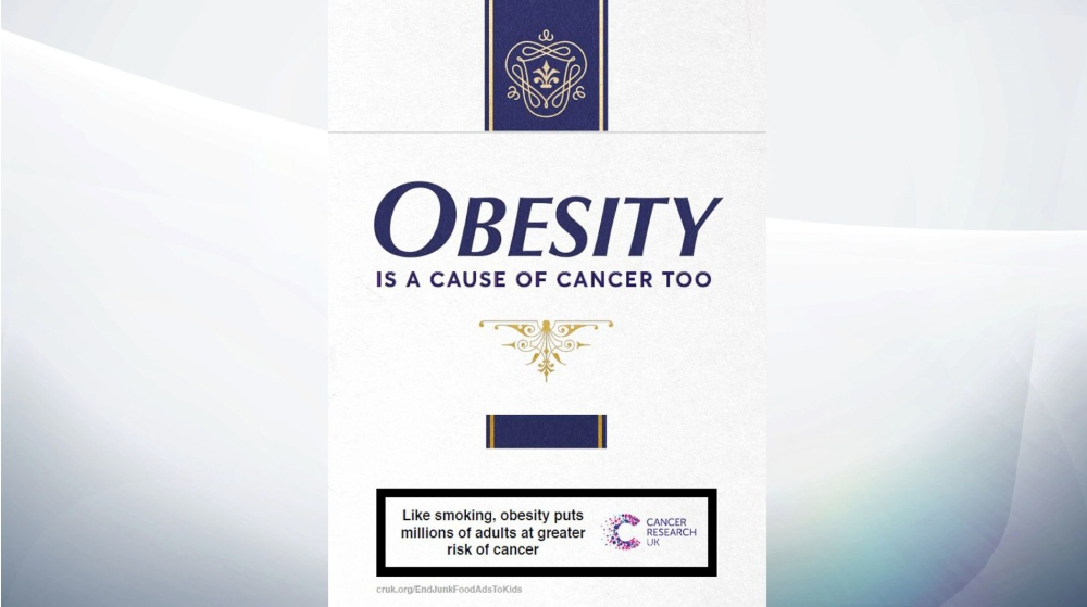 Cancer Research UK advert