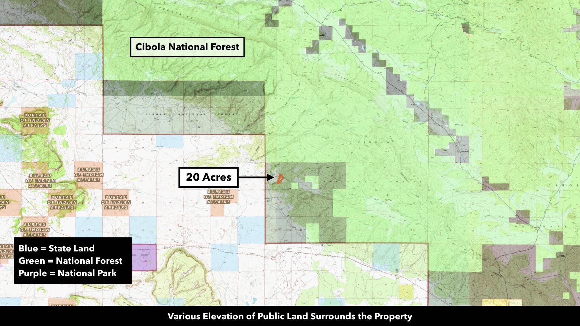 20 Wooded Mountain Acres of Land for Sale in New Mexico by the ... on