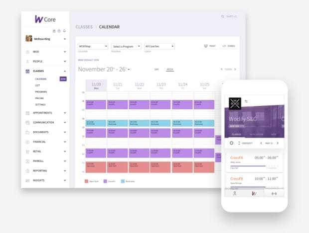 Fitness & gym management platform wodify technologies
