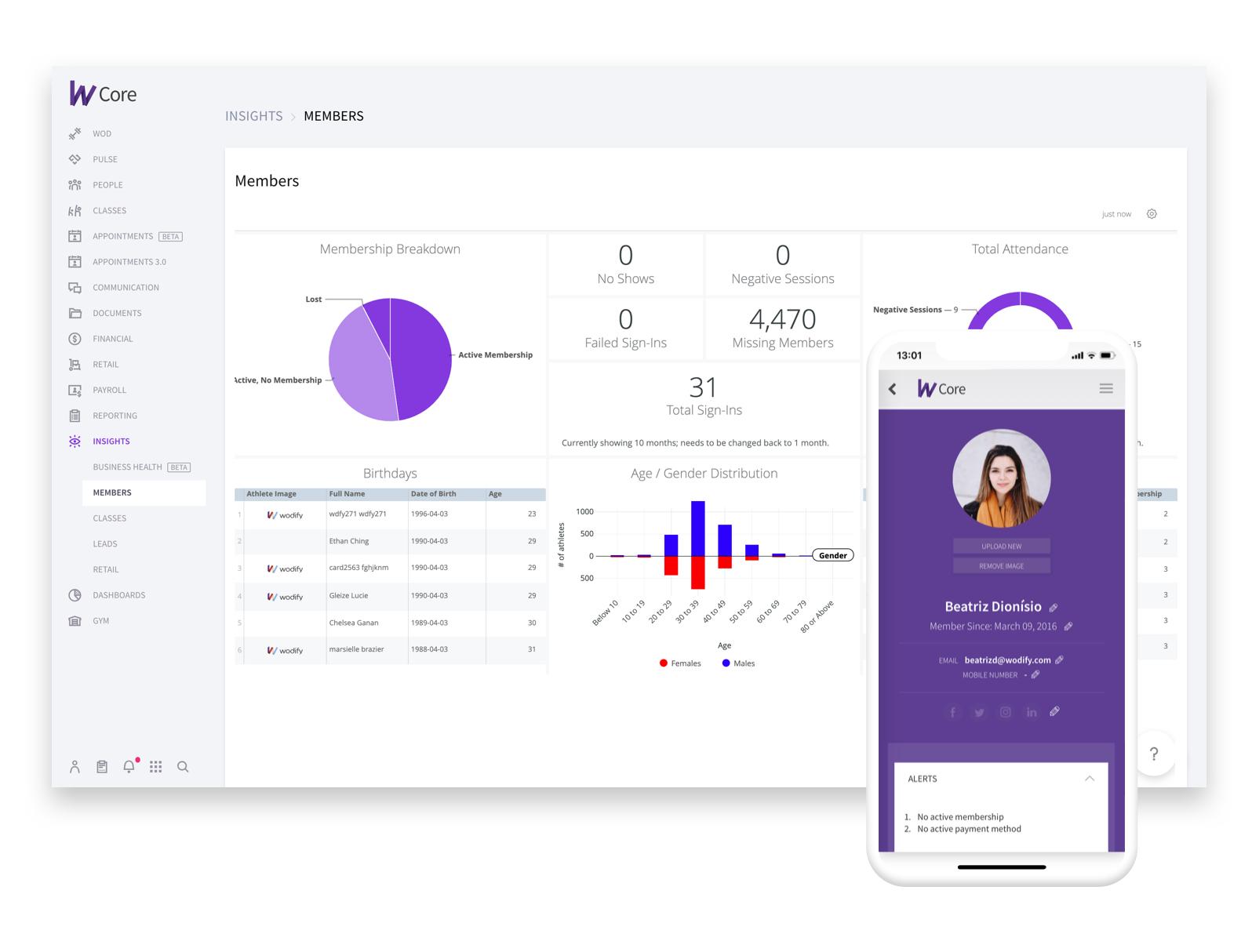 Fitness & Gym Management Platform - Wodify Technologies