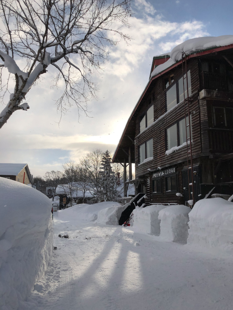 Moiwa lodge in niseko japan