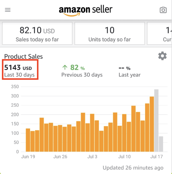 Jon Amazon Warrior Result | Just One Dime