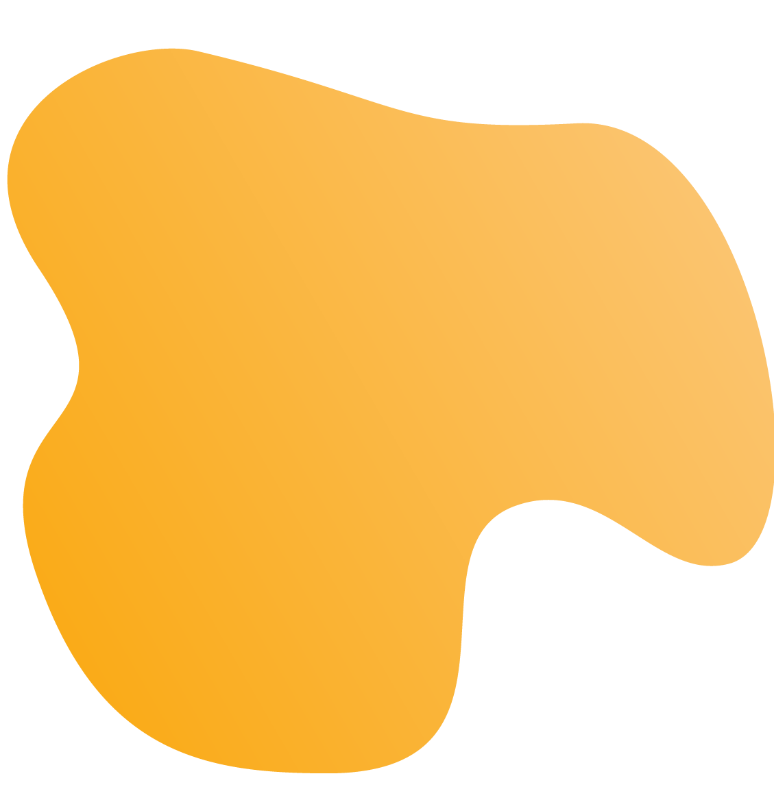 A yellow blob image used in backgrounds